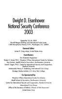 Dwight D. Eisenhower National Security Conference