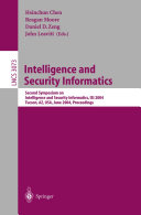 Intelligence and Security Informatics