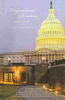Official Congressional Directory  2009 2010