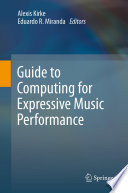 Guide to Computing for Expressive Music Performance