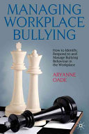 Managing Workplace Bullying