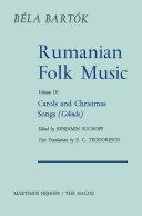 Rumanian Folk Music Pdf/ePub eBook