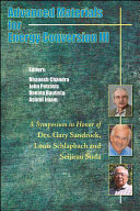 Advanced Materials for Energy Conversion III Book