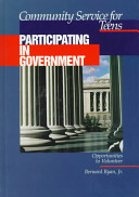 Community Service for Teens  Participating in government