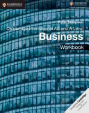 Books - New Cambridge International As & A Level Business Workbook | ISBN 9781108401579