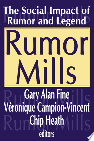 Download Rumor Mills online Books - godinez books