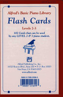 Alfred s Basic Piano Library Flash Cards