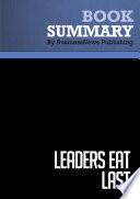 Summary  Leaders Eat Last