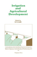 Irrigation and Agricultural Development