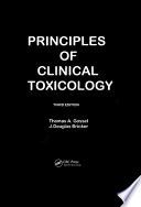 Principles Of Clinical Toxicology, Third Edition