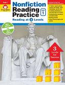 Nonfiction Reading Practice  Grade 1