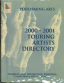 Performing Arts Touring and Presenting Program     Touring Artists Directory
