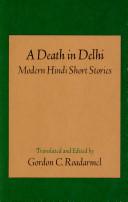 A Death in Delhi