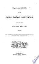 Transactions of the Maine Medical Association