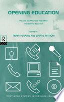 Opening Education PDF