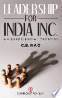 Leadership for India Inc.