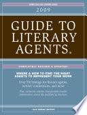 2009 Guide To Literary Agents   Listings
