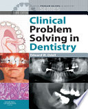 Clinical Problem Solving In Dentistry E Book Book PDF