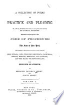 A Collection of Forms of Practice and Pleading in Actions Book