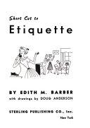 Short Cut to Etiquette Pdf/ePub eBook