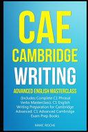 Cae Cambridge Writing