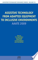 Assistive Technology From Adapted Equipment To Inclusive Environments Book PDF
