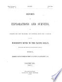 bk  1  pt  1 and the appendices of the narrative and final report by Isaac I  Stevens     route near the 47th and 49th parallels