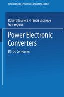 Pdf Power Electronic Converters Telecharger