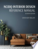 PPI NCIDQ Interior Design Reference Manual  Seventh Edition Book PDF