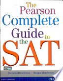 The Pearson Complete Guide to the SAT Book