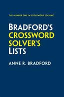 Crossword Solver's Lists