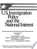 Papers on U.S. immigration history