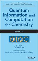 Quantum Information and Computation for Chemistry Pdf/ePub eBook