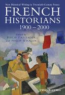 French Historians 1900-2000 [Pdf/ePub] eBook