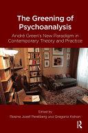 The Greening of Psychoanalysis Pdf/ePub eBook