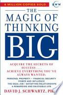 Magic Of Thinking Big image