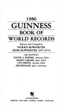 Guinness Book of World Records 1986