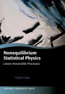 Nonequilibrium Statistical Physics Pdf/ePub eBook