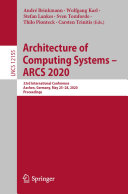 Architecture of Computing Systems     ARCS 2020