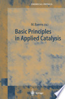 Basic Principles In Applied Catalysis Book PDF