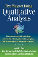 Five Ways of Doing Qualitative Analysis