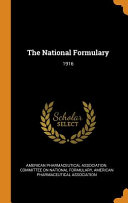 The National Formulary