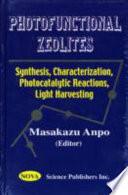 Photofunctional Zeolites Book