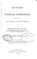 Lectures on Surgical Pathology
