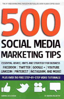 Five Hundred Social Media Marketing Tips Book PDF