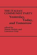 The Italian Communist Party