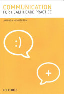 Cover of Communication for Health Care Practice
