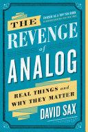 The Revenge of Analog Pdf/ePub eBook