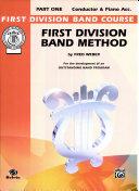 First Division Band Method, Part 1 Pdf/ePub eBook