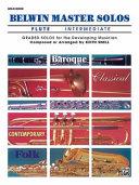 Belwin Master Solos  Flute   Vol 1  Intermediate